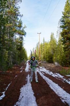 Paulina Peak approach